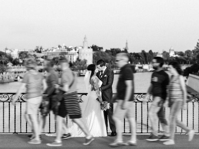 La boda de Alejandro y Ana en Espartinas, Sevilla 40