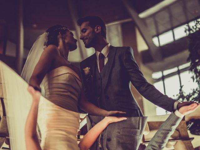 La boda de Asier y Briony en Alalpardo, Madrid 21