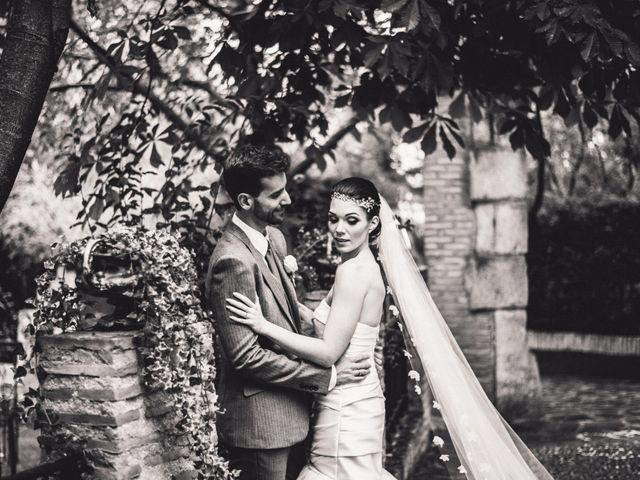 La boda de Asier y Briony en Alalpardo, Madrid 31