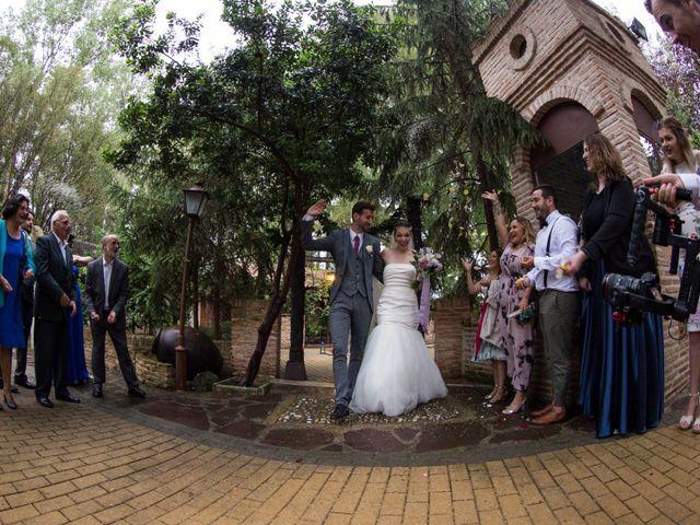 La boda de Asier y Briony en Alalpardo, Madrid 54
