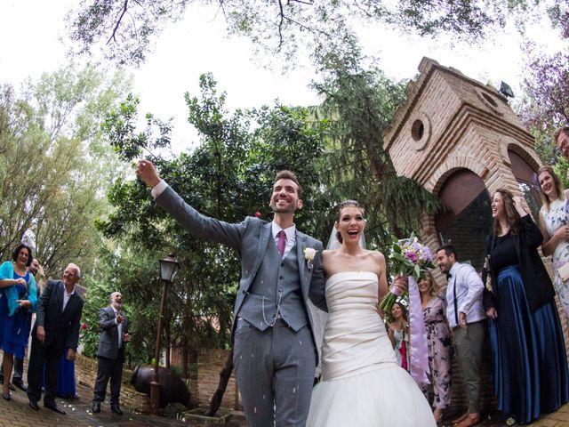 La boda de Asier y Briony en Alalpardo, Madrid 55