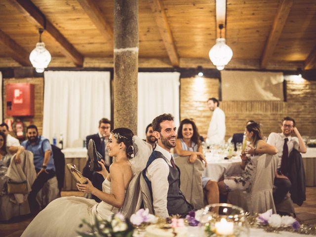 La boda de Asier y Briony en Alalpardo, Madrid 71