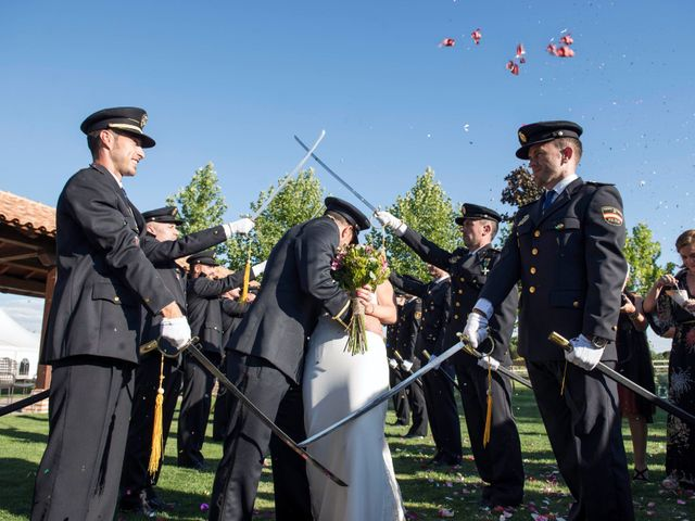 La boda de Alejandro y Ana en Hornillos De Eresma, Valladolid 18