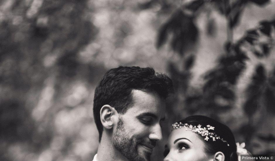 La boda de Asier y Briony en Alalpardo, Madrid