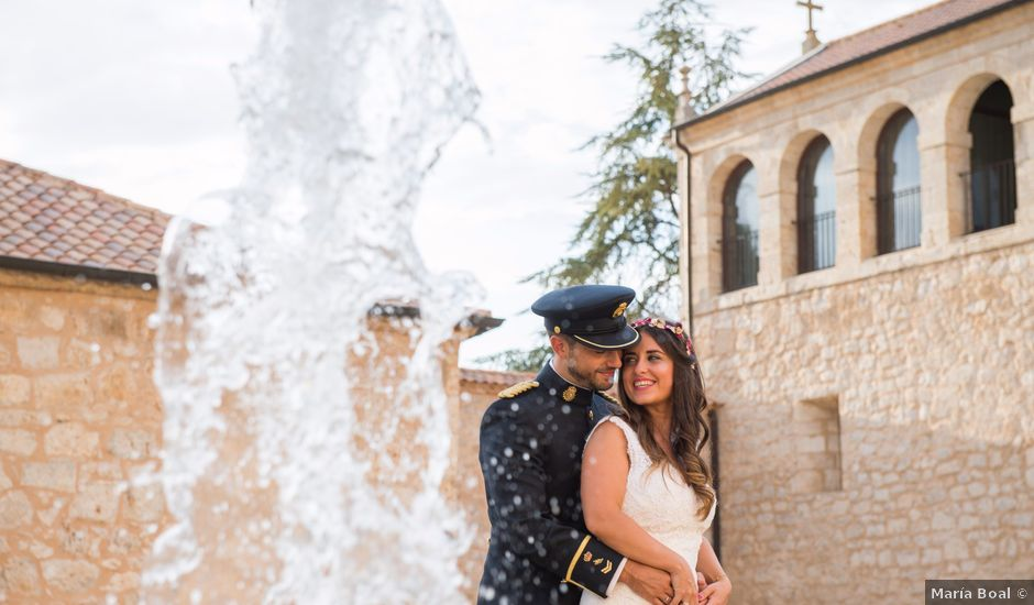 La boda de Alejandro y Ana en Hornillos De Eresma, Valladolid