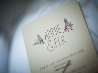 La boda de Annie y Fernando 1