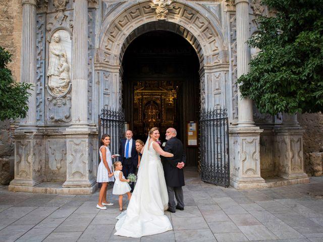 La boda de José y María en Granada, Granada 32