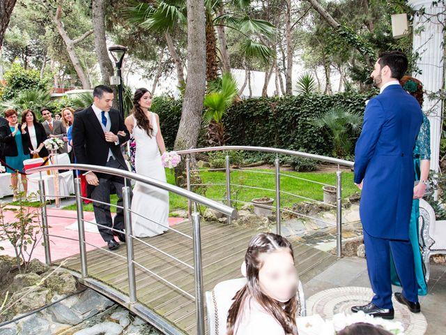 La boda de Javier y Cristina en Leganés, Madrid 2