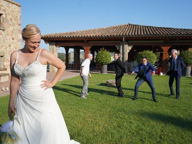La boda de Sergi y Miracle en Santa Eulalia De Ronçana, Barcelona 1
