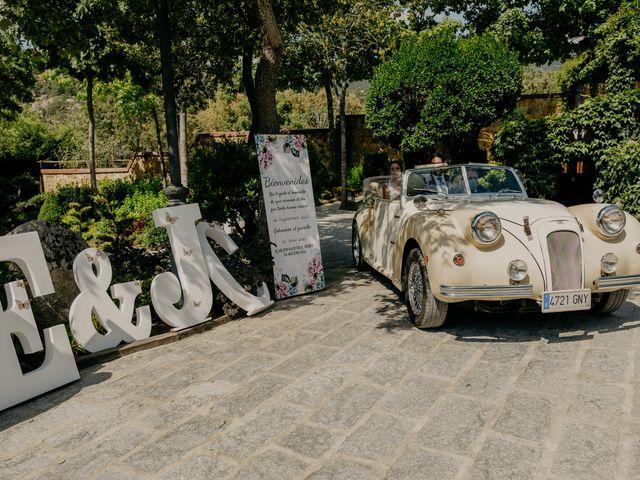 La boda de Elena y Jose Carlos en Miraflores De La Sierra, Madrid 61