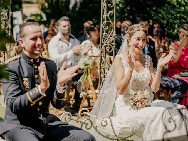 La boda de Elena y Jose Carlos en Miraflores De La Sierra, Madrid 72