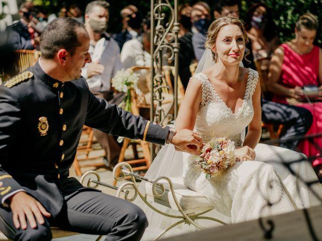 La boda de Elena y Jose Carlos en Miraflores De La Sierra, Madrid 75