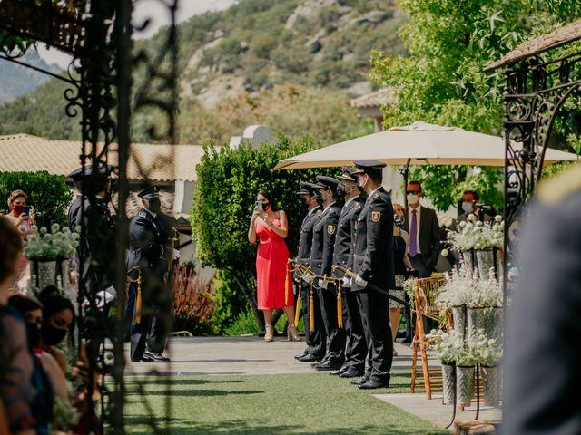 La boda de Elena y Jose Carlos en Miraflores De La Sierra, Madrid 82