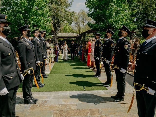 La boda de Elena y Jose Carlos en Miraflores De La Sierra, Madrid 86