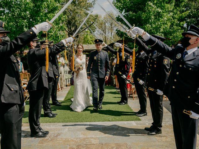 La boda de Elena y Jose Carlos en Miraflores De La Sierra, Madrid 90