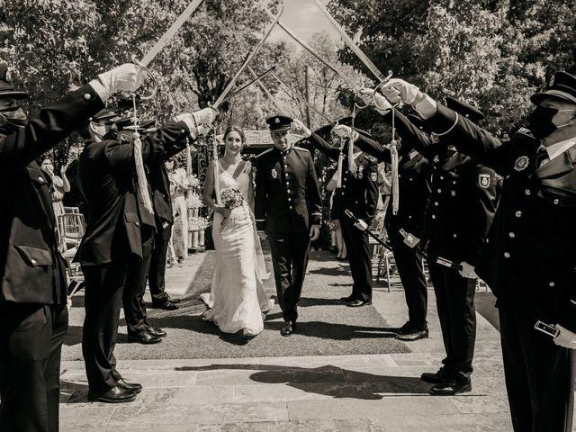 La boda de Elena y Jose Carlos en Miraflores De La Sierra, Madrid 91