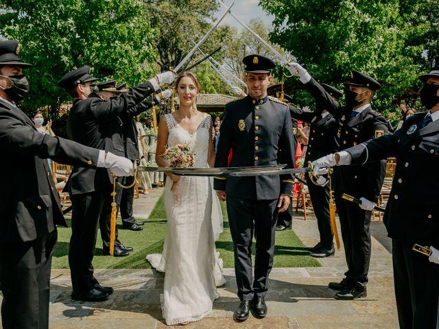 La boda de Elena y Jose Carlos en Miraflores De La Sierra, Madrid 92