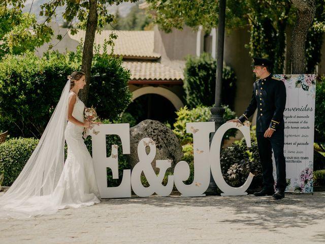 La boda de Elena y Jose Carlos en Miraflores De La Sierra, Madrid 110