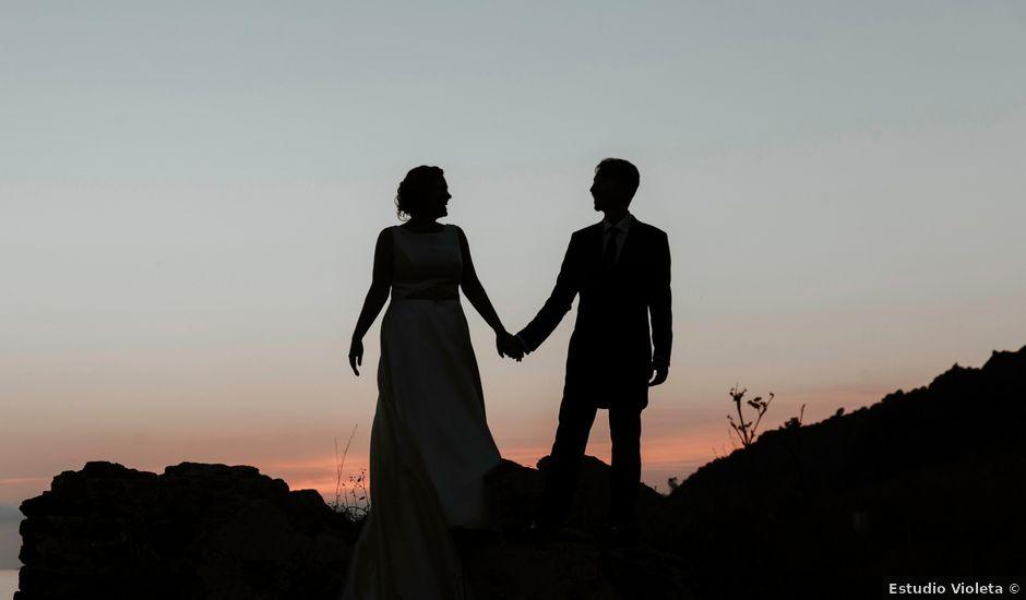 La boda de José y María en Granada, Granada