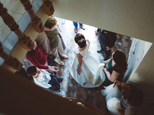 La boda de Ángel y Virginia en Villamena, Granada 14