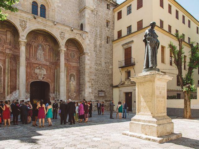 La boda de Ángel y Virginia en Villamena, Granada 15