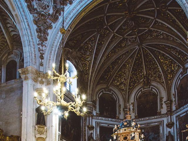 La boda de Ángel y Virginia en Villamena, Granada 19