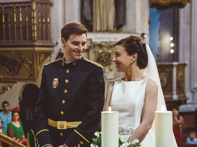 La boda de Ángel y Virginia en Villamena, Granada 21