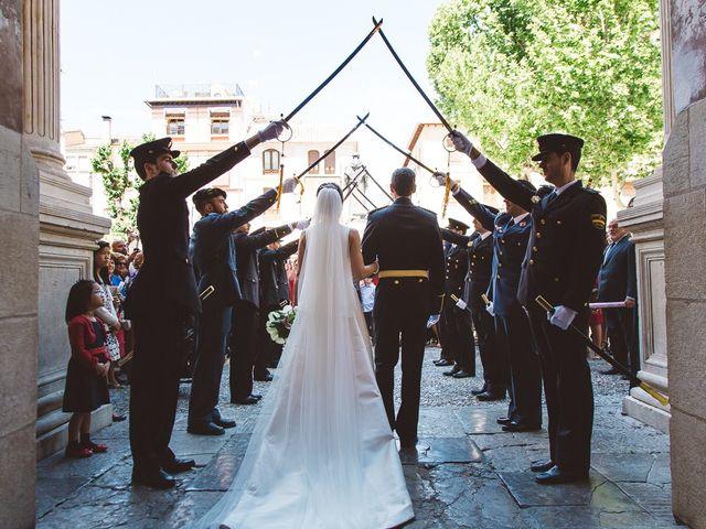 La boda de Ángel y Virginia en Villamena, Granada 22