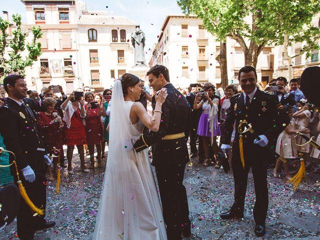 La boda de Ángel y Virginia en Villamena, Granada 25