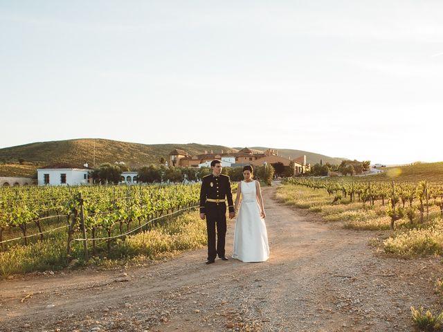 La boda de Ángel y Virginia en Villamena, Granada 41