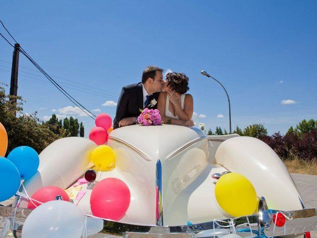 La boda de Julio y Carla en Laguna De Duero, Valladolid 19