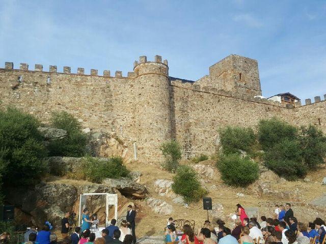 La boda de David y Luz María en Alconchel, Badajoz 1