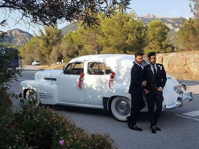 La boda de Fran y Johny en El Bruc, Barcelona 2