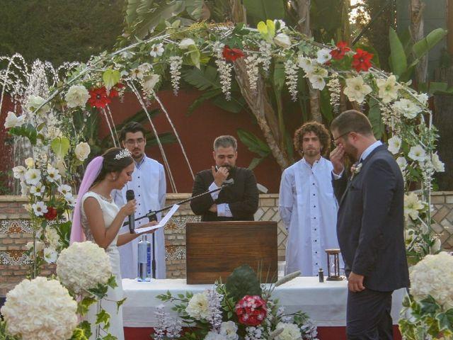 La boda de José y Inma  en Salteras, Sevilla 11