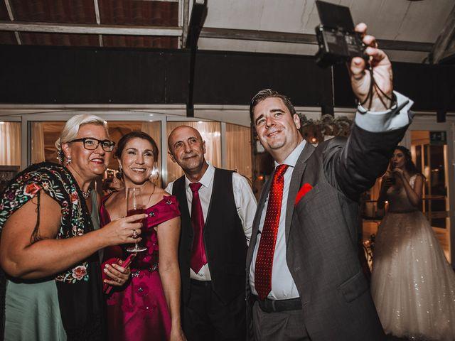 La boda de Angello y Alba en Torre Del Mar, Málaga 130