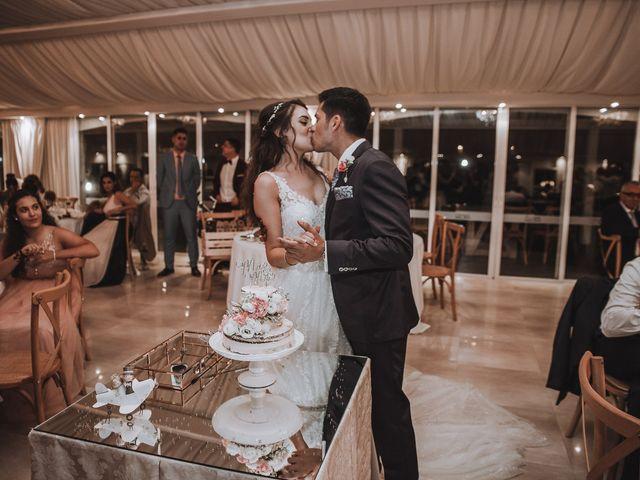 La boda de Angello y Alba en Torre Del Mar, Málaga 181