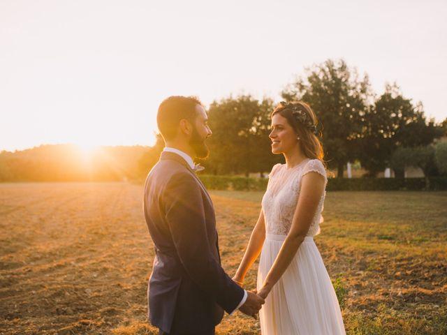 La boda de Laurent y Laura