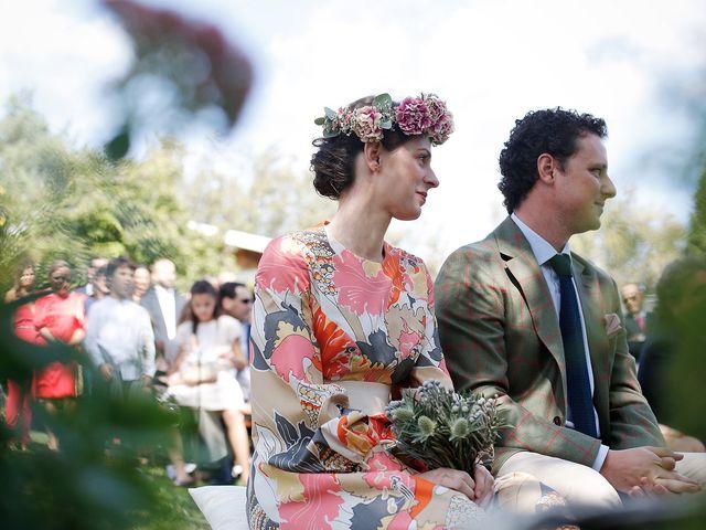 La boda de Josema y Maria en Rascafria, Madrid 1