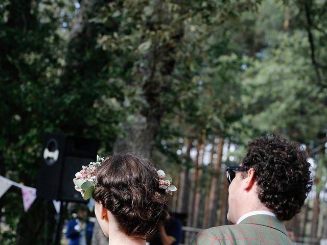 La boda de Josema y Maria en Rascafria, Madrid 59