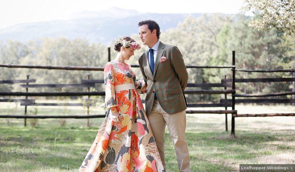 La boda de Josema y Maria en Rascafria, Madrid