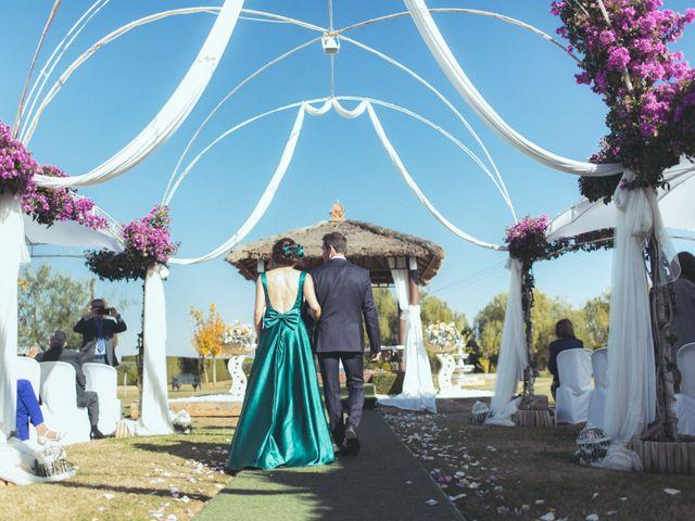 La boda de Ismael y Isabel en L' Ènova, Valencia 72