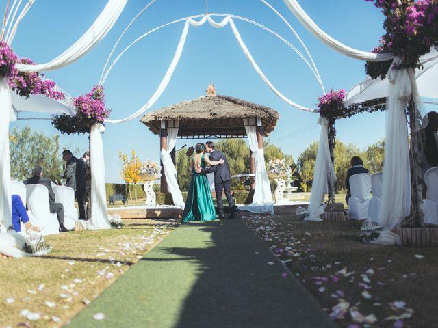 La boda de Ismael y Isabel en L' Ènova, Valencia 74