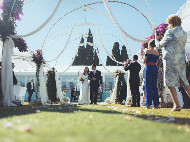 La boda de Ismael y Isabel en L' Ènova, Valencia 78