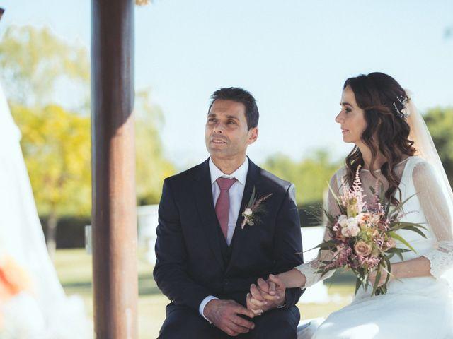 La boda de Ismael y Isabel en L' Ènova, Valencia 83