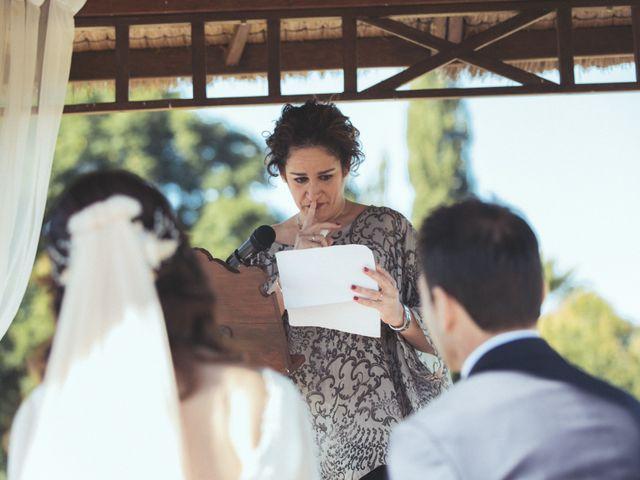 La boda de Ismael y Isabel en L' Ènova, Valencia 88