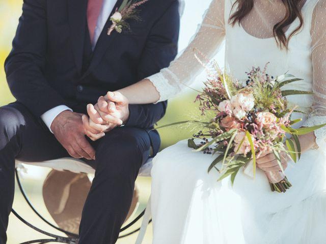 La boda de Ismael y Isabel en L' Ènova, Valencia 90