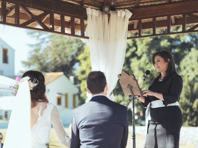 La boda de Ismael y Isabel en L' Ènova, Valencia 93