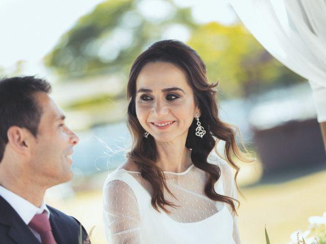La boda de Ismael y Isabel en L' Ènova, Valencia 94