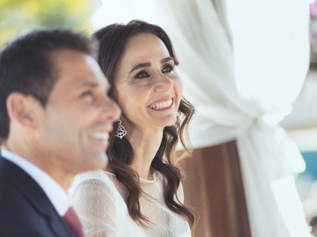 La boda de Ismael y Isabel en L' Ènova, Valencia 95