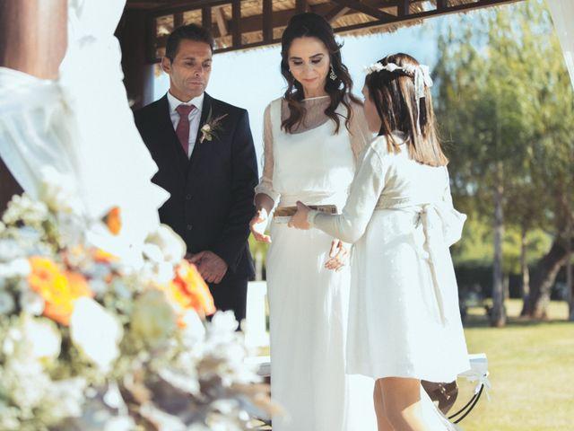 La boda de Ismael y Isabel en L' Ènova, Valencia 97